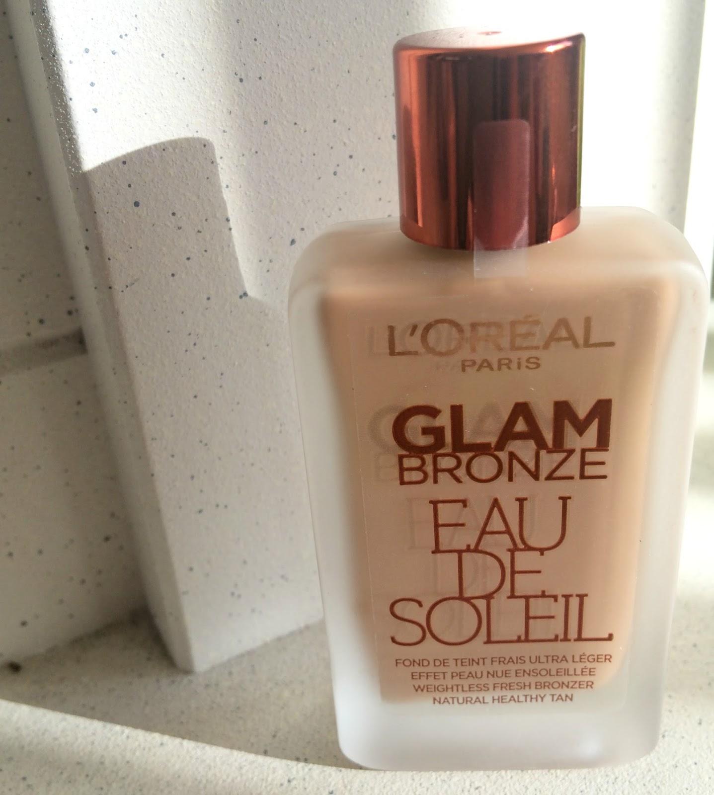 L'oreal glam bronze eau de soleil