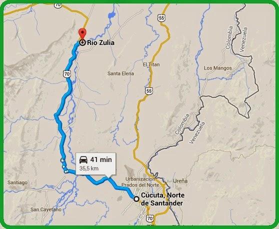 Eje vial ecoturístico Cúcuta-RíoZulia-Cúcuta, otro proyecto de la ONG ATALAYA ECOTURÍSTICA [OngAE]
