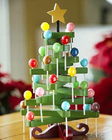10 ideas para hacer rboles de navidad - Adornos originales para navidad ...