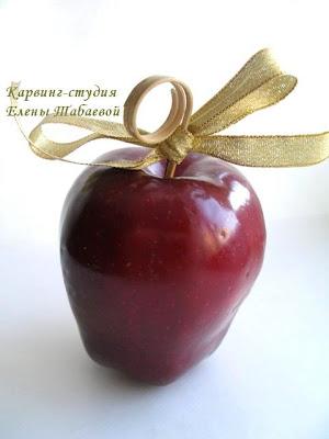 декор из фруктов для новогоднего стола