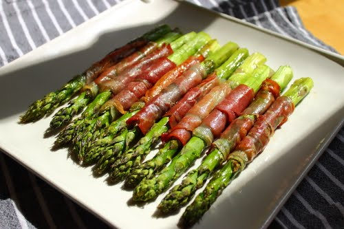 roasted prosciutto wrapped asparagus roasted asparagus with fried ...