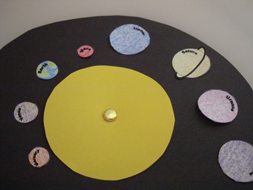 Explore to learn early literacy fun once upon a story for Planet crafts for kids