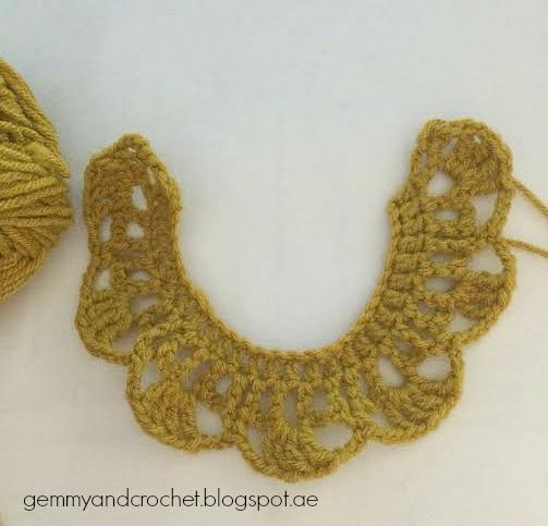 All About Crochet Free Pattern Crochet Bib Necklace