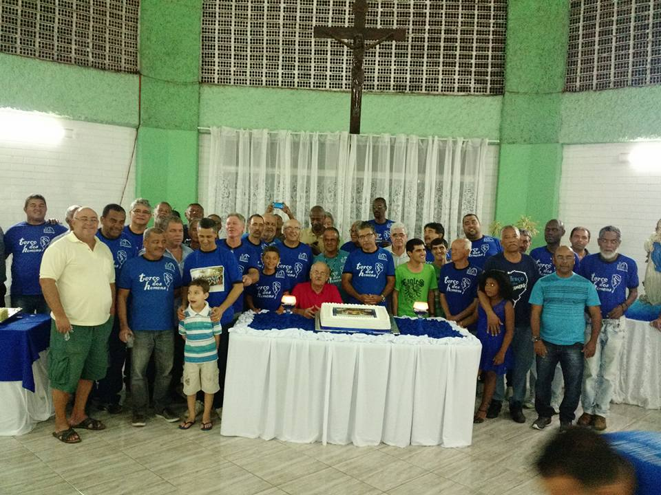 CONFRATERNIZAÇÃO ANUAL DO TERÇO DOS HOMENS DA PNSC-STA.CRUZ - 2016
