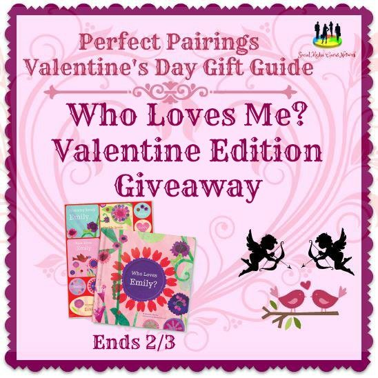 Who Loves Me? Valentine Edition Giveaway