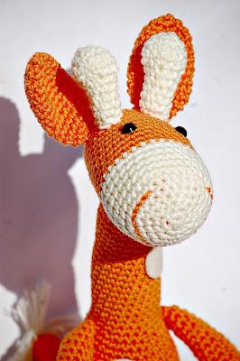 Amigurumi jirafa - AMIGURUMIS - La Tienda de Lisa