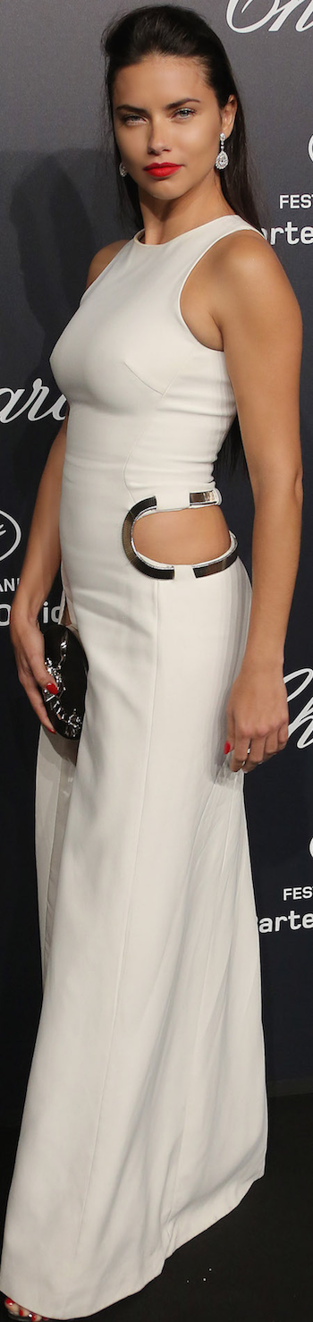 Adriana Lima Cannes Film Festival