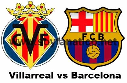 Barcelona vs Villarreal 2015