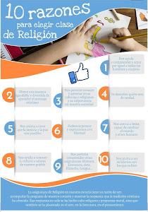 10 MOTIVOS PARA ELEGIR LA CLASE DE RELIGIÓN EN LA ESCUELA