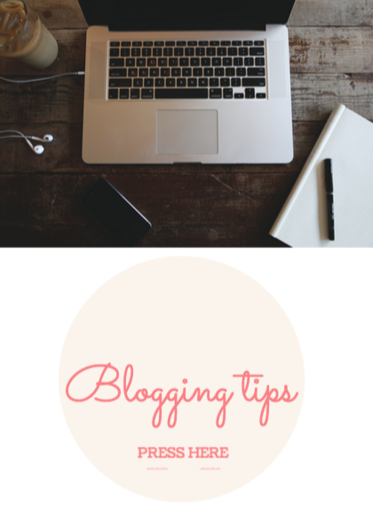 BLOGGING TIPS:
