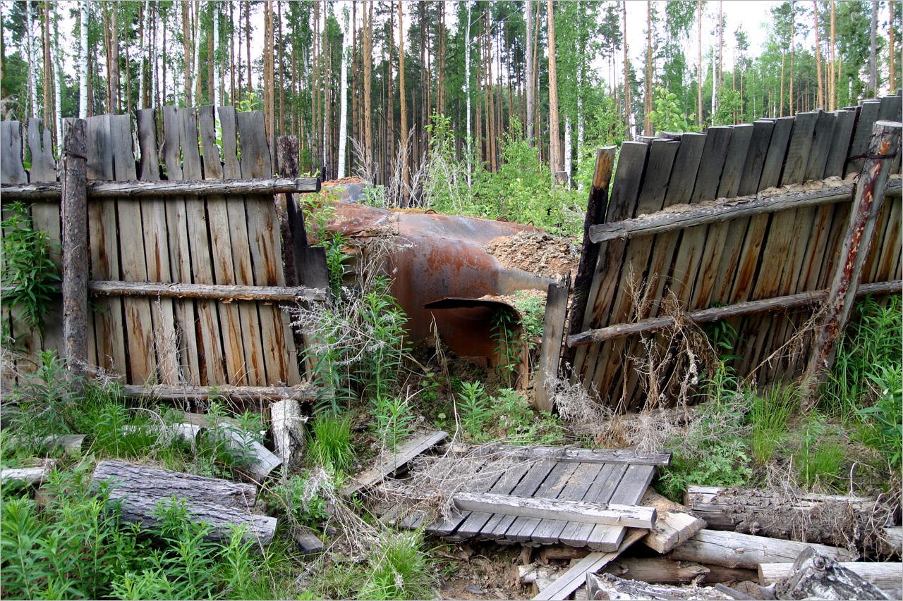 Уральские дольмены у озера Вашты