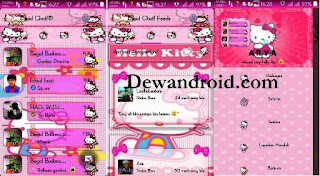 BBM Beta DroidChat Hello Kitty v 290.0.0.29 + Clone