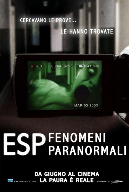 esp fenomeni paranormali locandina