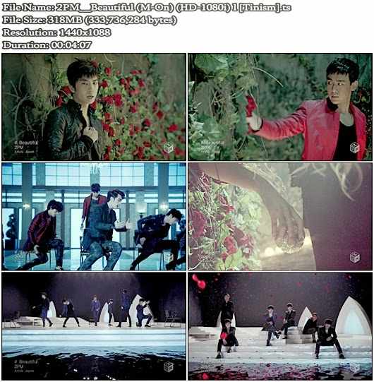 Download PV 2PM - Beautiful (M-On Full HD 1080i)
