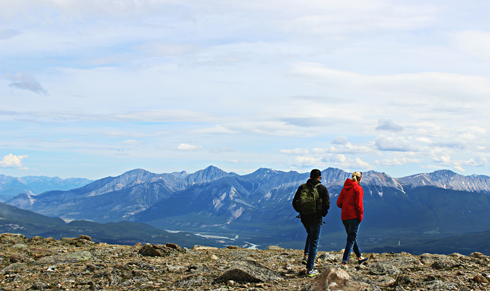 hiking jasper alberta rocky mountains travel photography
