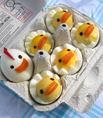Украса на храна за Великден