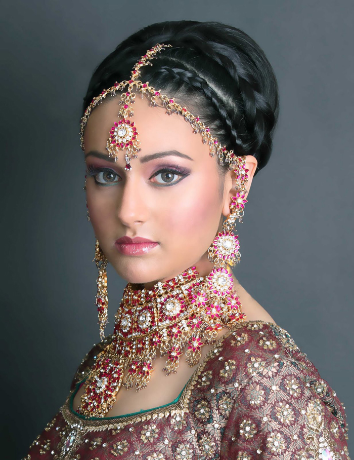 Brilliant Bridal Hairstyle Indian Wedding 700 x 908 · 428 kB · jpeg