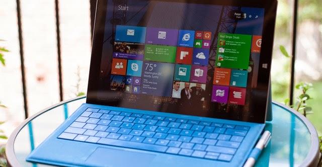 Microsoft Surface Pro 3 nhận bản cập nhật firmware