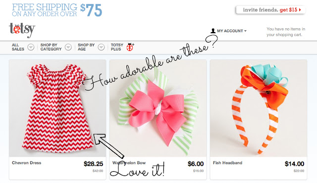 Cute spring fashions and chevron print dress from Totsy #cbias