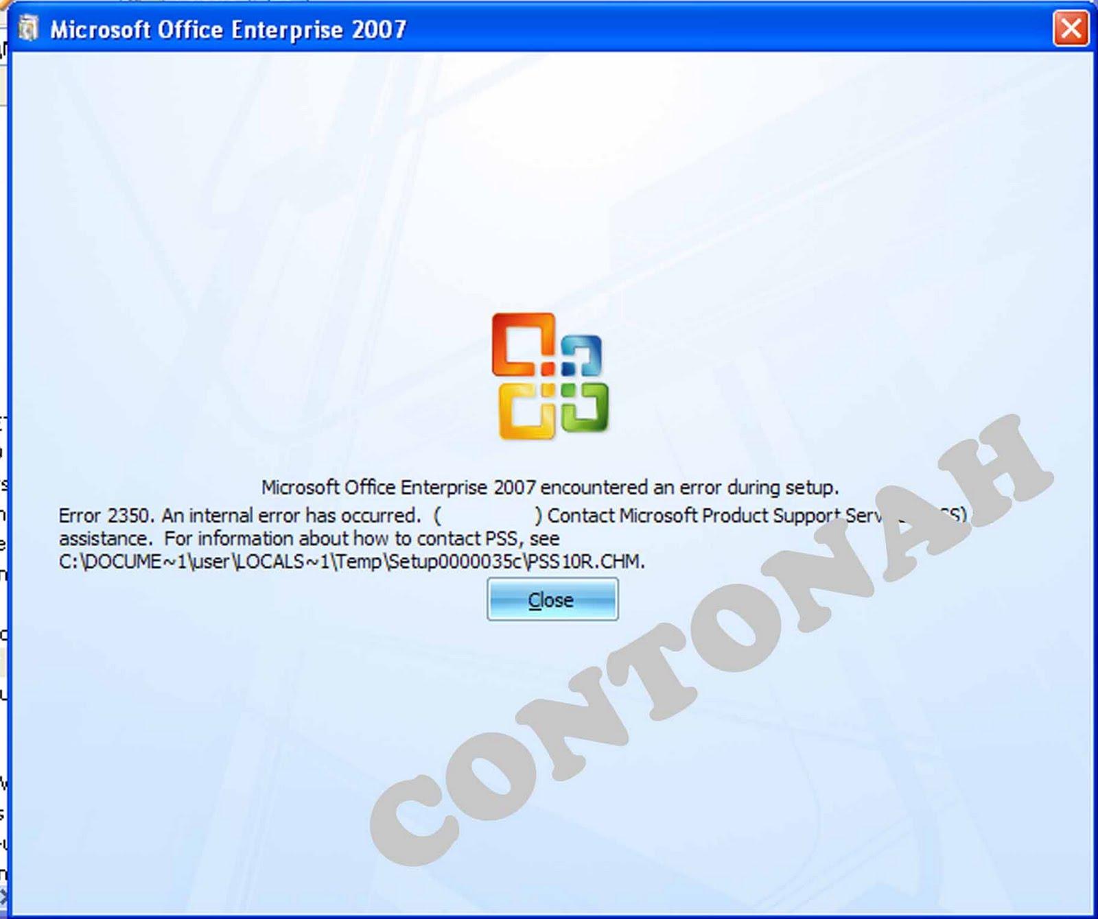 Mengatasi error 1335 the cabinet file data1.cab required for this ...
