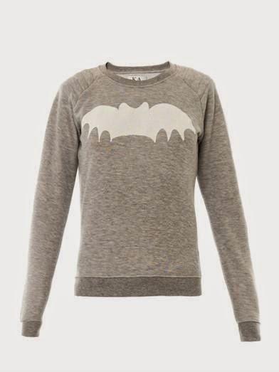 zoe karssen grey bat jumper