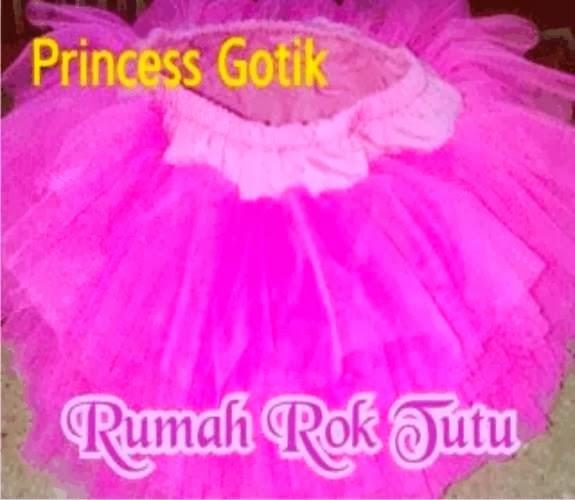 ROK TUTU PRINCESS GOTIK