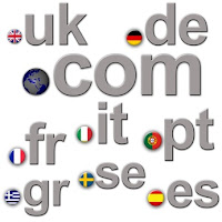 Different country specific domain extensions