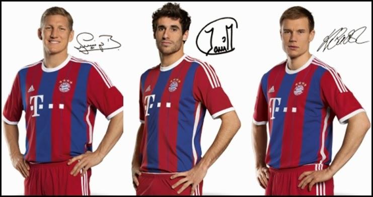 Bayern Munich Home 2014-2015