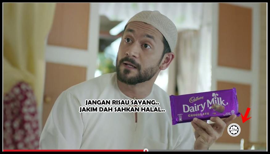sesi mengumpat iklan islamik terbaru cadbury malaysia 2014