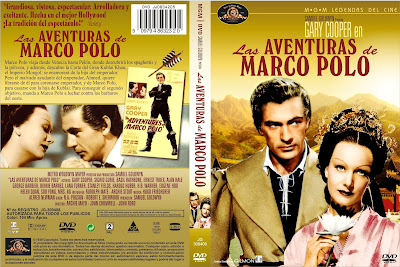 Las aventuras de Marco Polo | 1938 | The Adventures of Marco Polo  | cover, dvd, caratula