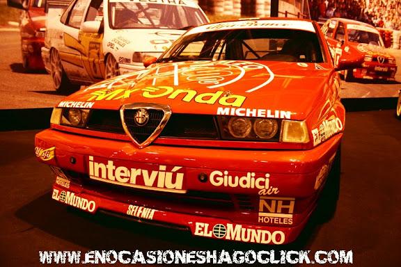 Alfa Romeo 155 Adrian Campos Campeonato de España de Turismos