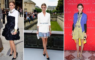 Olivia Palermo Paris Fashion Week 2013
