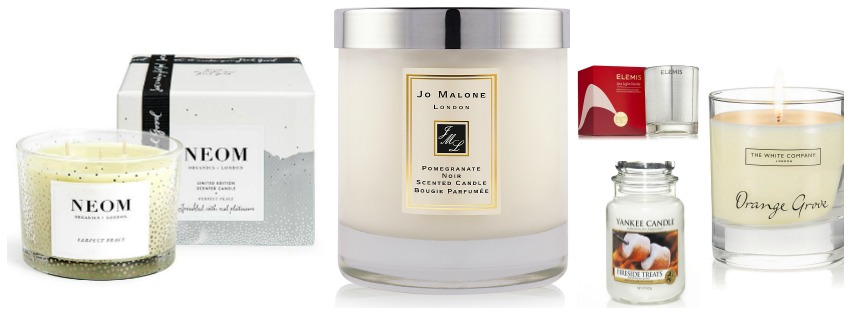 Christmas Candle Gift Guide