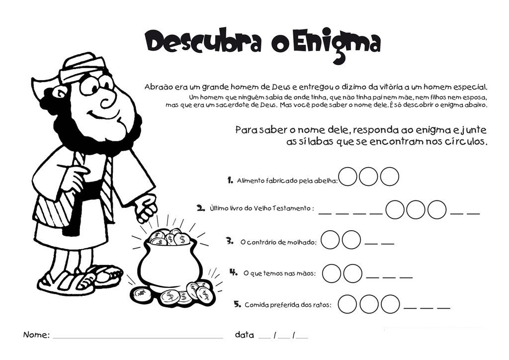Super Tias da Escolinha - Ministério Infantil: Desenhos e atividades DE89