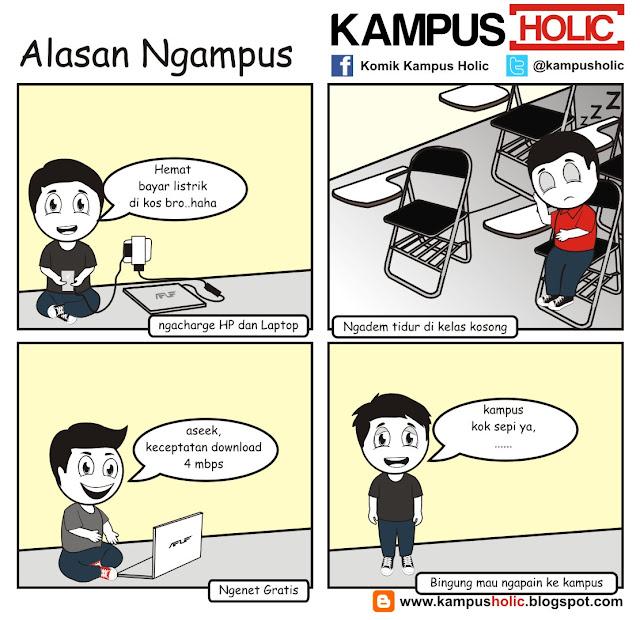 #043 Alasan mahasiswa Ngampus