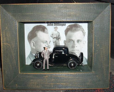 John Dillinger shadowbox