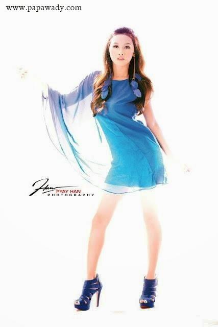 Myanmar Model Thinzar Nwe Win