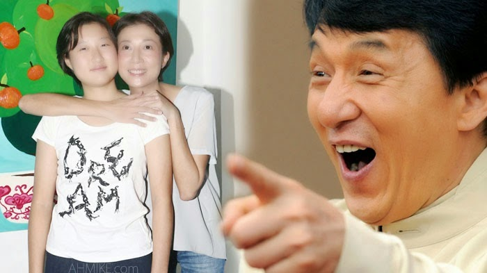 TVB Entertainment News: Jackie Chan's Illegitimate ...