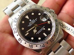 ROLEX EXPLORER II BLACK DIAL 40mm - ROLEX 16570 SERIE X YEAR 1992 - AUTOMATIC CAL 3185 - FULLSET