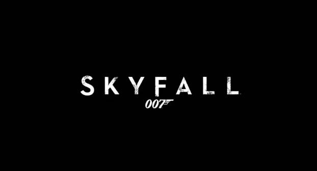 Skyfall 2012 James Bond Film title directed by Sam Mendes starring Daniel Craig, Javier Bardem, Judi Dench, Ralph Fiennes, Albert Finney, Naomie Harris, and Berenice Marlohe