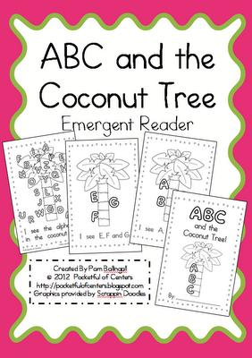 math worksheet : pocketful of centers chicka chicka boom boom fun! : Chicka Chicka Boom Boom Worksheets For Kindergarten