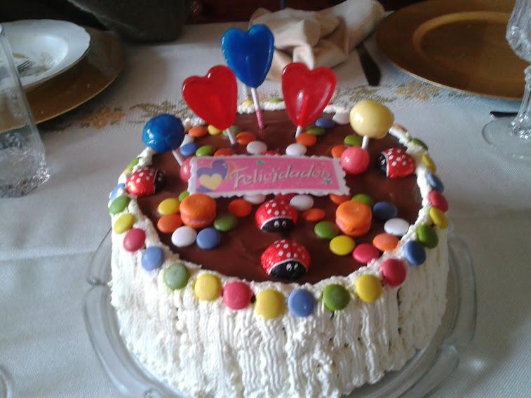 tarta de cumpleaños de mi hija