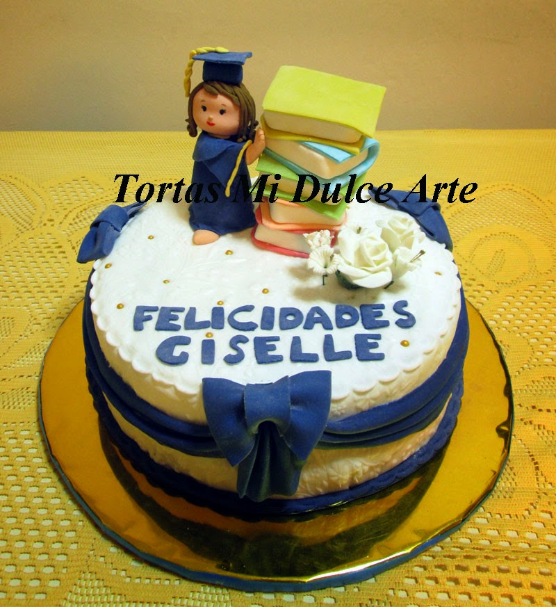 Tortas de graduacion utilisima tortas y mini tortas de for Utilisima decoracion