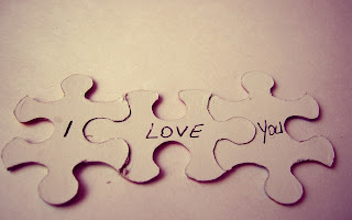 Puzzles Text I Love You Macro HD Love Wallpaper