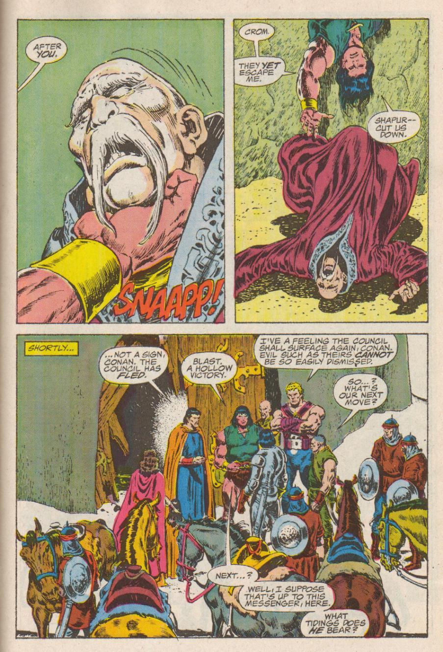 Conan the Barbarian (1970) Issue #190 #202 - English 22