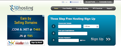 Free Lifetime Web Hosting With Subdomain