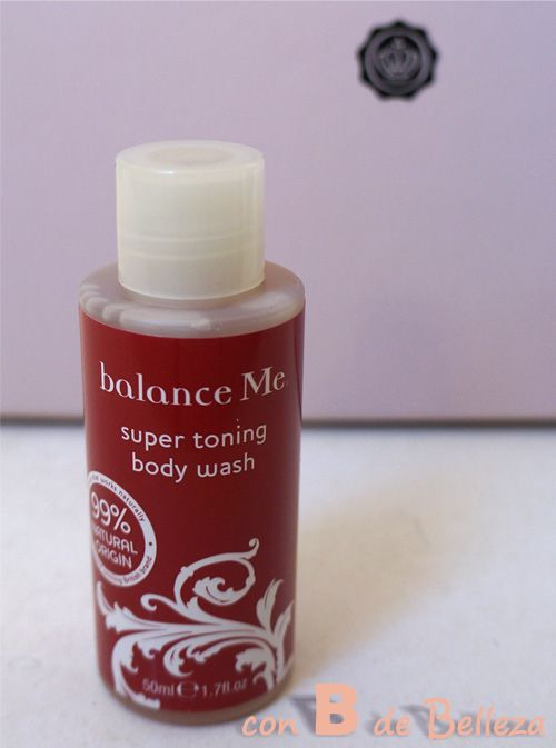Super toning body wash de Balance me