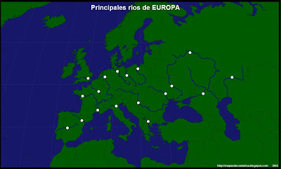 Principales Rios de Europa