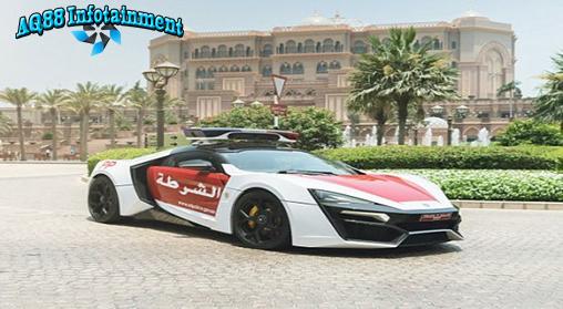 Abu Dhabi -Kepolisian Abu Dhabi, Uni Emirat Arab, telah melengkapi jajarannya dengan mobil berperforma super buatan Lebanon,