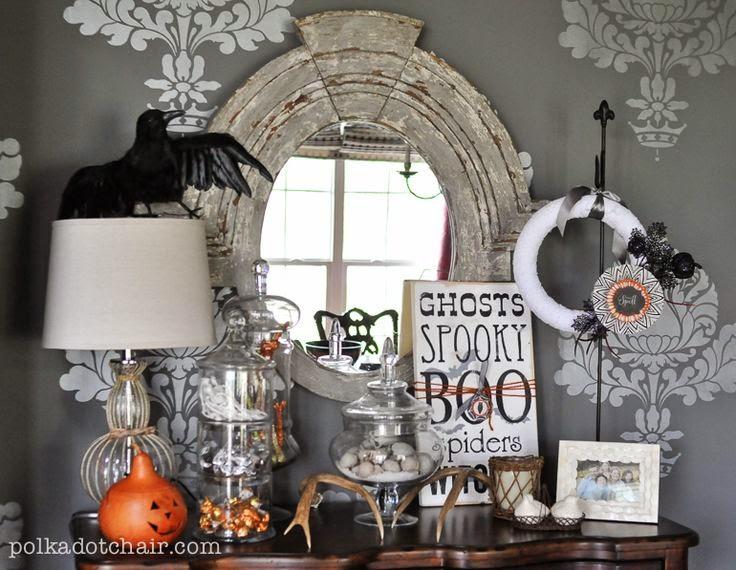 Decora tu casa para Halloween con estlo